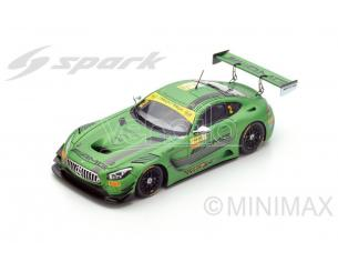 Spark Model SA114 MERCEDES AMG GT3 N.2 6th MACAU GT WORLD CUP 2016 R.VAN DER ZANDE 1:43 Modellino
