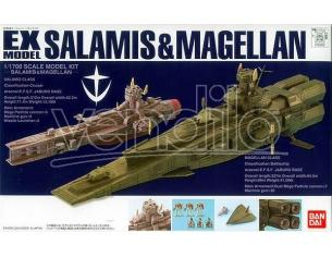 BANDAI MODEL KIT EX SALAMIS & MAGELLAN 23 MODEL KIT