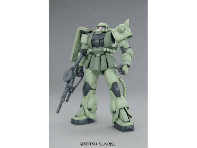 GUNDAM - 1/100 MS-06F Zaku II Ver. 2.0 Master Grade Model Kit MG Bandai