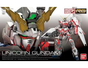 BANDAI MODEL KIT RG GUNDAM UNICORN 1/144 MODEL KIT