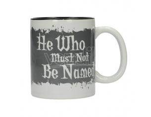 SD TOYS HP HE WHO MUST NOT BE NAMED B&W MUG TAZZA