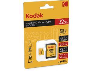 MICROSDHC 32GB CLASS10 U3 W/ADAPTER MEMORY CARD/HARD DISK CONSOLE - MEMORIE
