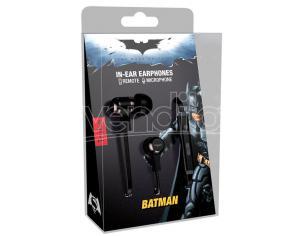 TRIBE AURICOLARI CON MICROFONO DC BATMAN CUFFIE - AUDIO/VIDEO