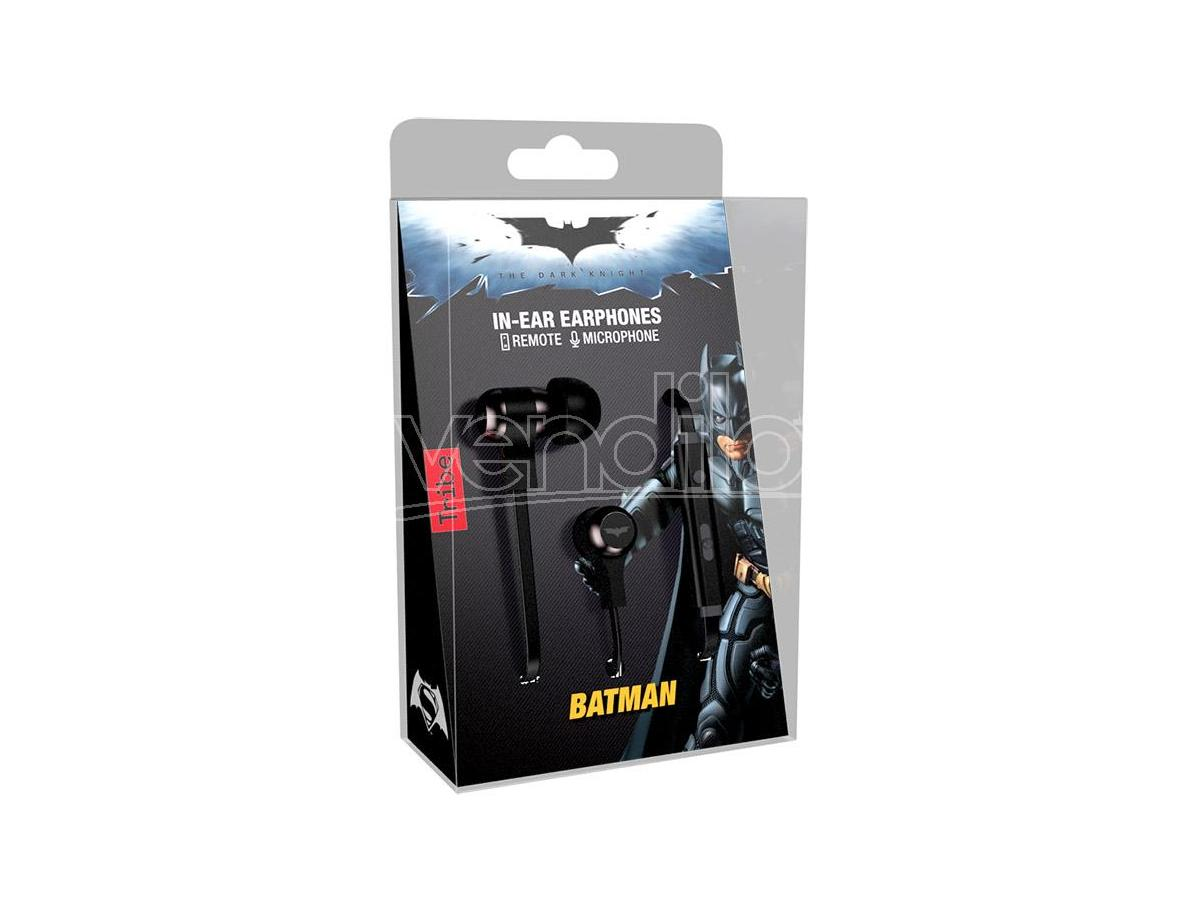 TRIBE AURICOLARI CON MICROFONO DC BATMAN CUFFIE - AUDIO/VIDEO