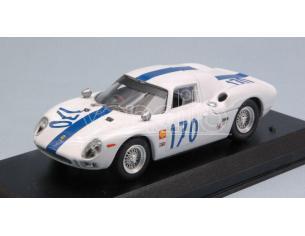 Best Model BT9676 FERRARI 250 LM N.170 ACCIDENT T.FLORIO 1966 A.W.SWANSON-R.ENNIS 1:43 Modellino
