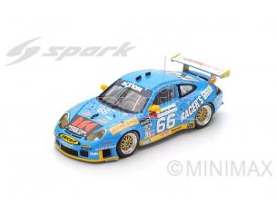 Spark Model S43DA03 PORSCHE 911 GT3 RS N.66 WINN.24H DAYT.2003 BERGMEISTER-BERNHARD 1:43 Modellino