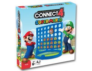 Gioco da Tavolo Forza 4 Super Mario Versione Inglese Winning Moves