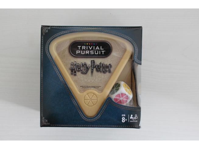 Gioco da Tavolo Trivial Pursuit Harry Potter Bite Size versione Italiano Winning Moves