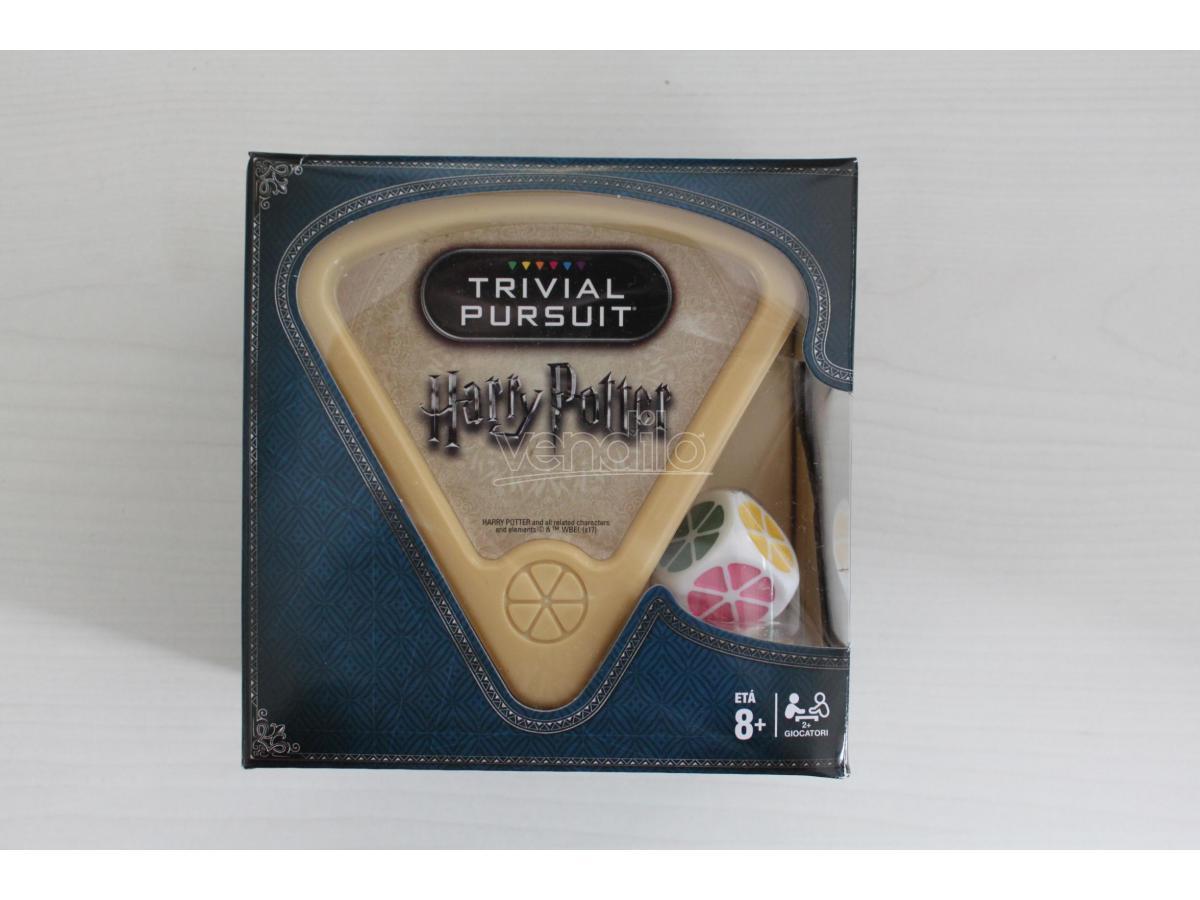 Gioco da Tavolo Trivial Pursuit Harry Potter Bite Size versione Italiano Winning Moves