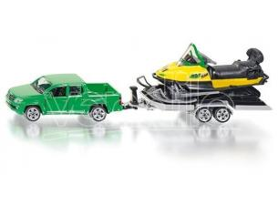 Sky Marks SK2548 PICK UP W/SNOWMOBILE 1:55 Modellino