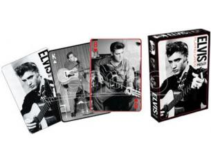 AQUARIUS ENT ELVIS PLAYING CARDS -B&W- CARTE DA GIOCO