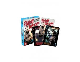 AQUARIUS ENT FRIDAY THE 13TH PLAYING CARDS CARTE DA GIOCO
