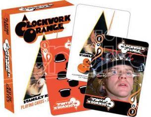 AQUARIUS ENT A CLOCKWORK ORANGE PLAYING CARDS CARTE DA GIOCO