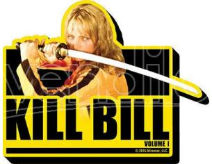 AQUARIUS ENT KILL BILL VOL1 MAGNET MAGNETI