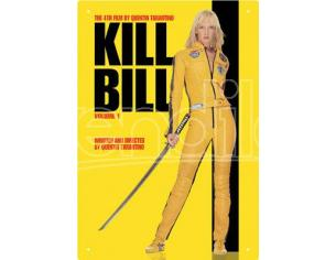 AQUARIUS ENT KILL BILL VOL1 TIN SIGN INSEGNA
