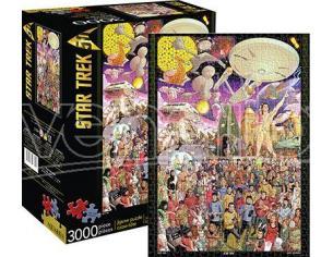 AQUARIUS ENT STAR TREK 50TH 3000 PCS PUZZLE PUZZLE