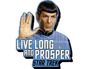 AQUARIUS ENT STAR TREK SPOCK QUOTE MAGNET MAGNETI