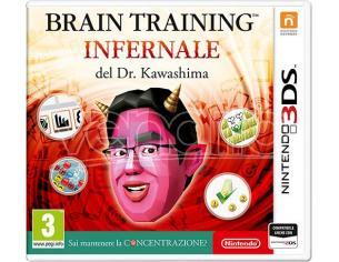 BRAIN TRAINING INFERNALE DOTT.KAWASHIMA CASUAL GAME - NINTENDO 3DS