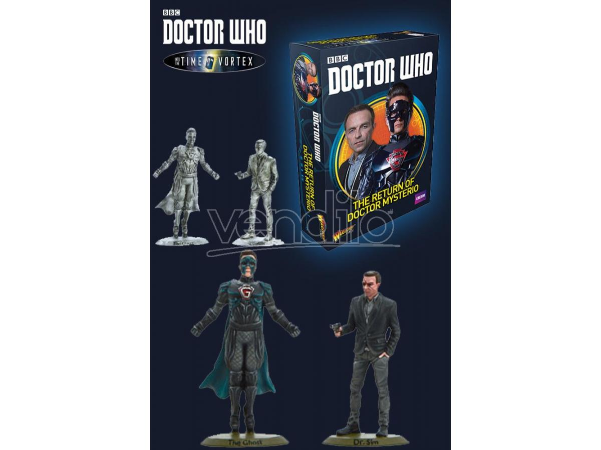 WARLORD GAMES DOCTOR WHO RETURN OF DR MYSTERIO GIOCO DA TAVOLO