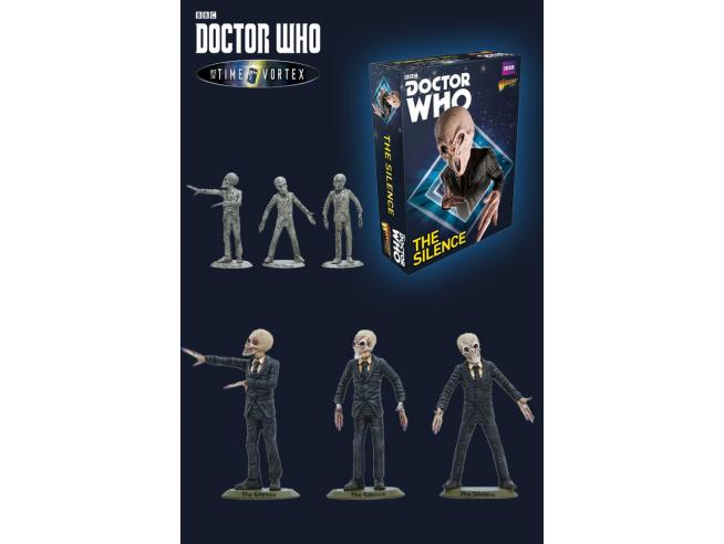 WARLORD GAMES DOCTOR WHO THE SILENCE GIOCO DA TAVOLO