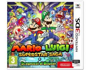 MARIO & LUIGI SUPERSTAR SAGA+SCAGNOZZI B AVVENTURA - NINTENDO 3DS