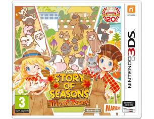 STORY OF SEASONS TRIO TOWNS SIMULAZIONE - NINTENDO 3DS