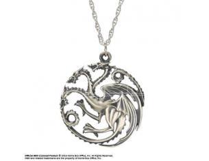 Game of Thrones Ciondolo e Collana dei Targaryen Noble Collection