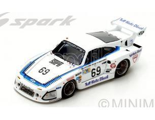Spark Model S4426 PORSCHE 935 L1 N.69 DNF LM 1981 J.LUNDGARDH-M.WILDS-A.PLANKENHORN 1:43 Modellino