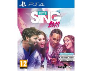 LET'S SING 2018 + 1 MIC MUSICALE - PLAYSTATION 4