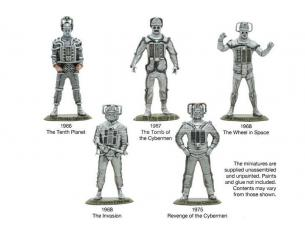 WARLORD GAMES DOCTOR WHO NIGHTMARES IN SILVER CYBERMEN GIOCO DA TAVOLO