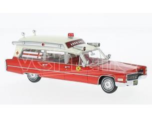Neo Scale Models NEO43899 CADILLAC S&S AMBULANCE FIRE RESCUE 1:43 Modellino