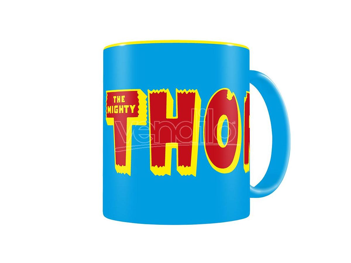 SD TOYS MARVEL THOR LOGO BLUE-YELLOW MUG TAZZA