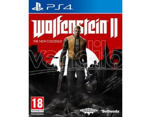 WOLFENSTEIN 2: THE NEW COLOSSUS SPARATUTTO - PLAYSTATION 4