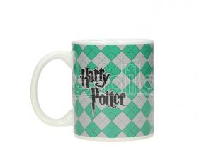 SD TOYS HP SLYTHERIN WHITE MUG TAZZA