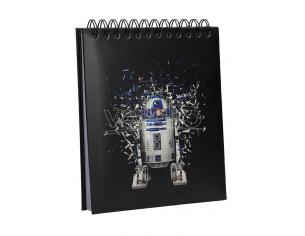 SD TOYS SW EP4 R2-D2 NOTEBOOK W/ LIGHT SOUND TACCUINO