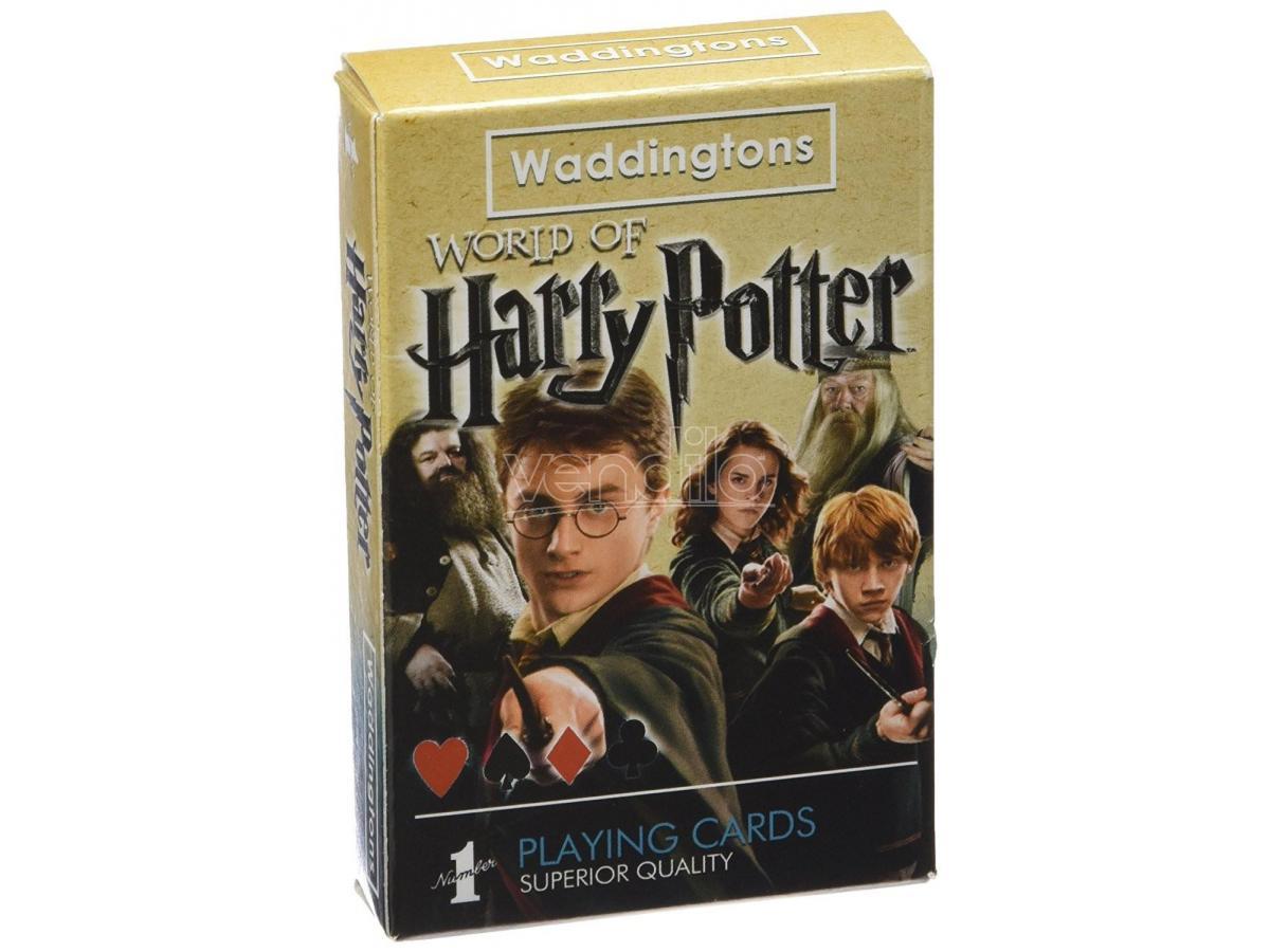 Gioco da Tavolo Mazzo di Carte da Poker Harry Potter Winning Moves