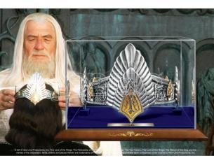 Corona del re Aragon Signore degli anelli Lord of the Rings King Elessar Crown Noble Collection
