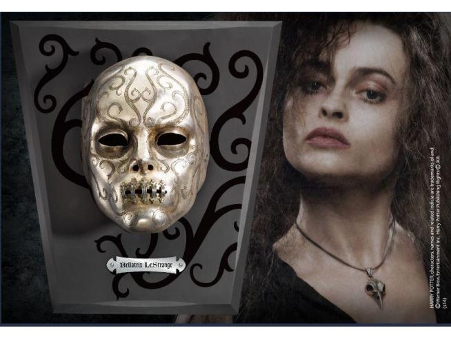 Maschera Mangiamorte Bellatrix Lestrange Inossidabile Harry Potter Noble