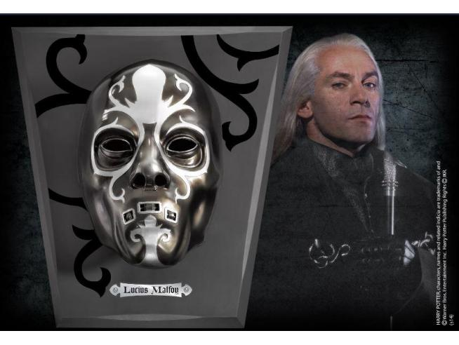 Maschera Mangiamorte Lucius Malfoy Indossabile Replica Harry Potter Noble