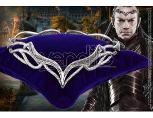 Diadema Elrond The Hobbit Corona Re elfico Signore degli anelli Noble Collection