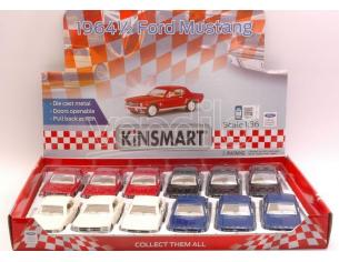 Hot Wheels KT5351D FORD MUSTANG 1964 1:36 Modellino