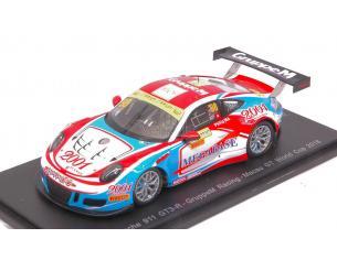 Spark Model SA118 PORSCHE 911 GT3 R N.98 MACAU GT WORLD CUP 2016 MA C.YEUNG PHILIP 1:43 Modellino