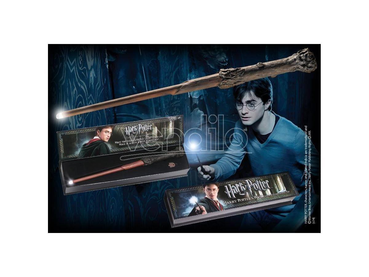 Bacchetta Magica Harry Punta Luminosa Harry Potter Noble Collection