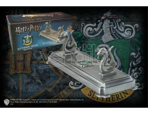 Porta Bacchetta con Stemma Serpeverde Harry Potter Noble Collection