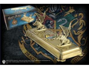 Harry Potter  Porta Bacchetta Con Stemma Hogwarts  Noble Collection