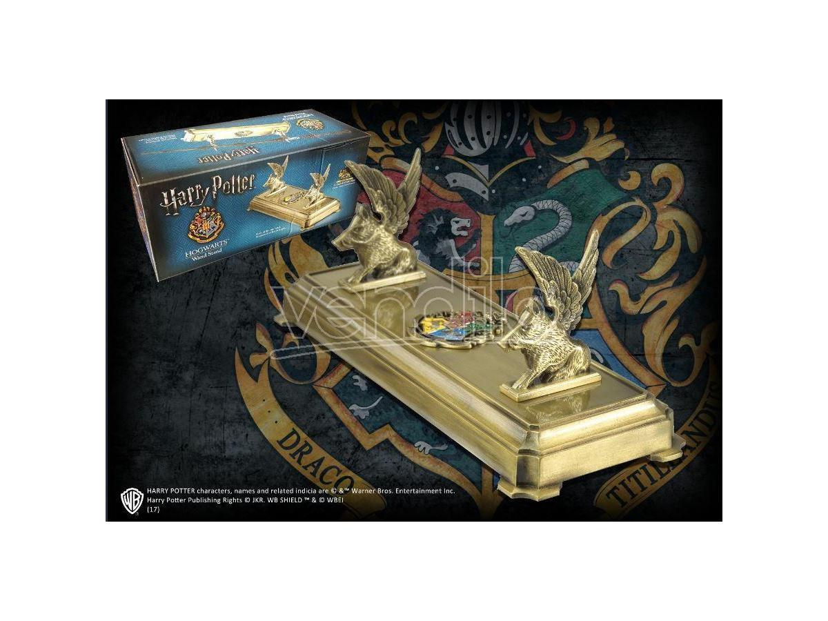 Harry Potter  Porta Bacchetta Con Stemma Hogwarts  Noble Collection