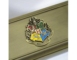 Porta Bacchetta con Stemma Hogwarts Harry Potter Noble Collection