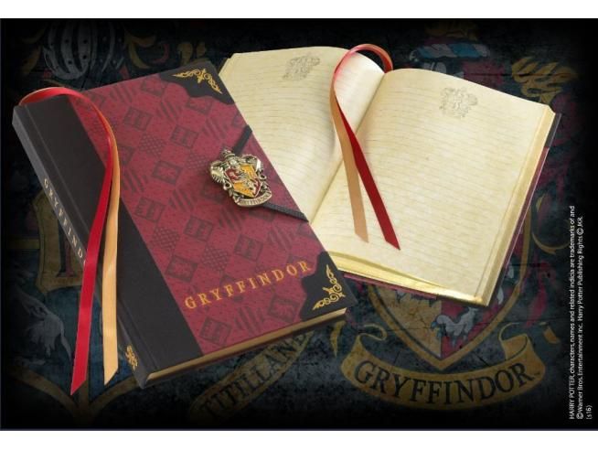 Agenda Diario con Stemma Grifondoro Harry Potter Noble Collection