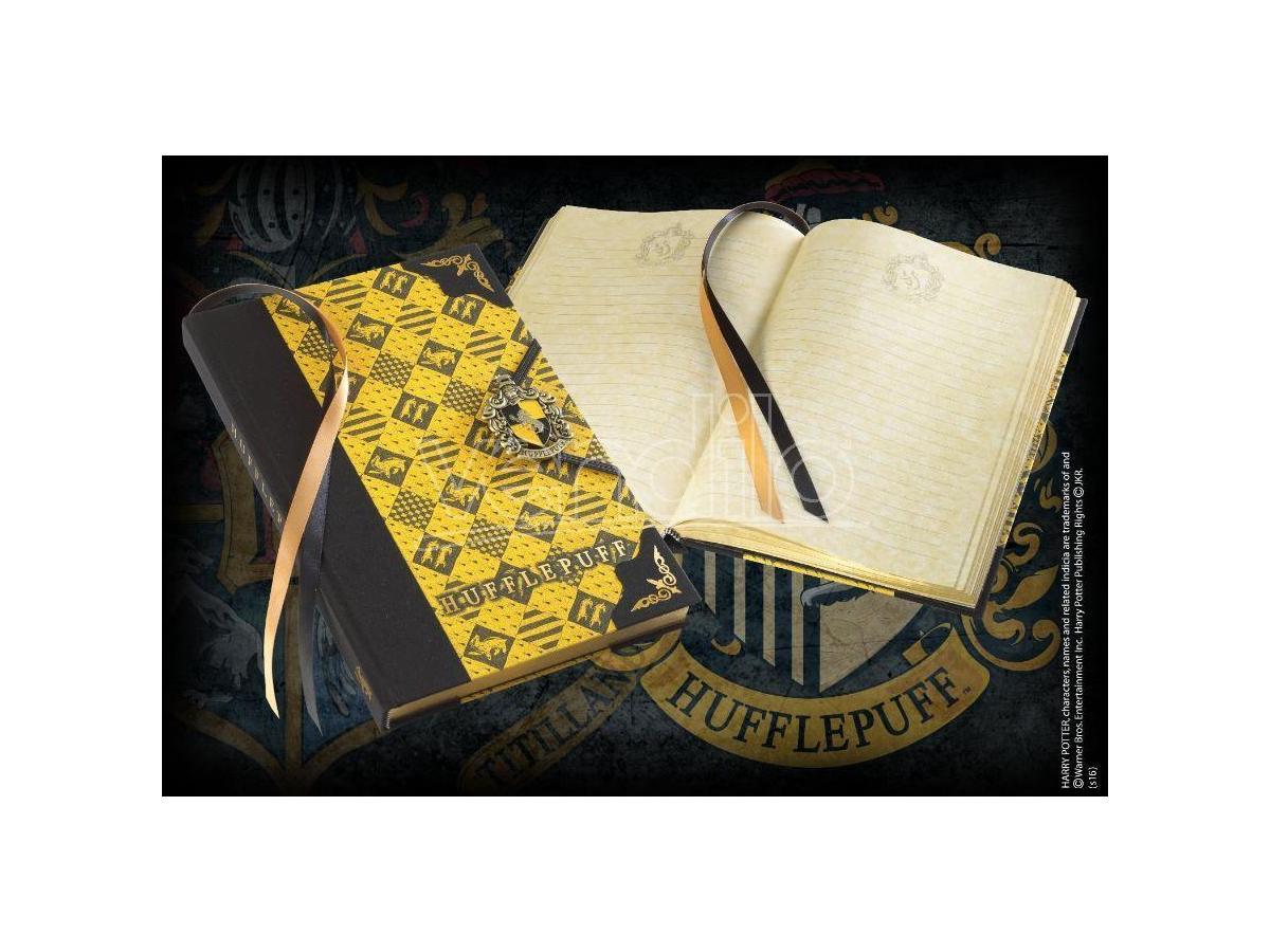 Agenda Diario con Stemma Tassorosso - Harry Potter Noble Collection