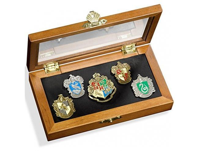 Harry Potter Spille Con 5 Stemmi Casate Di Hogwarts Noble Collection
